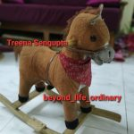Toyshine Sunshine Horse Mini Wooden Rocker With Music and Light-Amazing and Rocking-By treena123