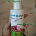 Mamaearth Onion Hair Oil-Amazing product-By treena123