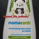 Mamaearth Daily Moisturizing Lotion and Mineral Based Sunscreen-Amazing product-By treena123