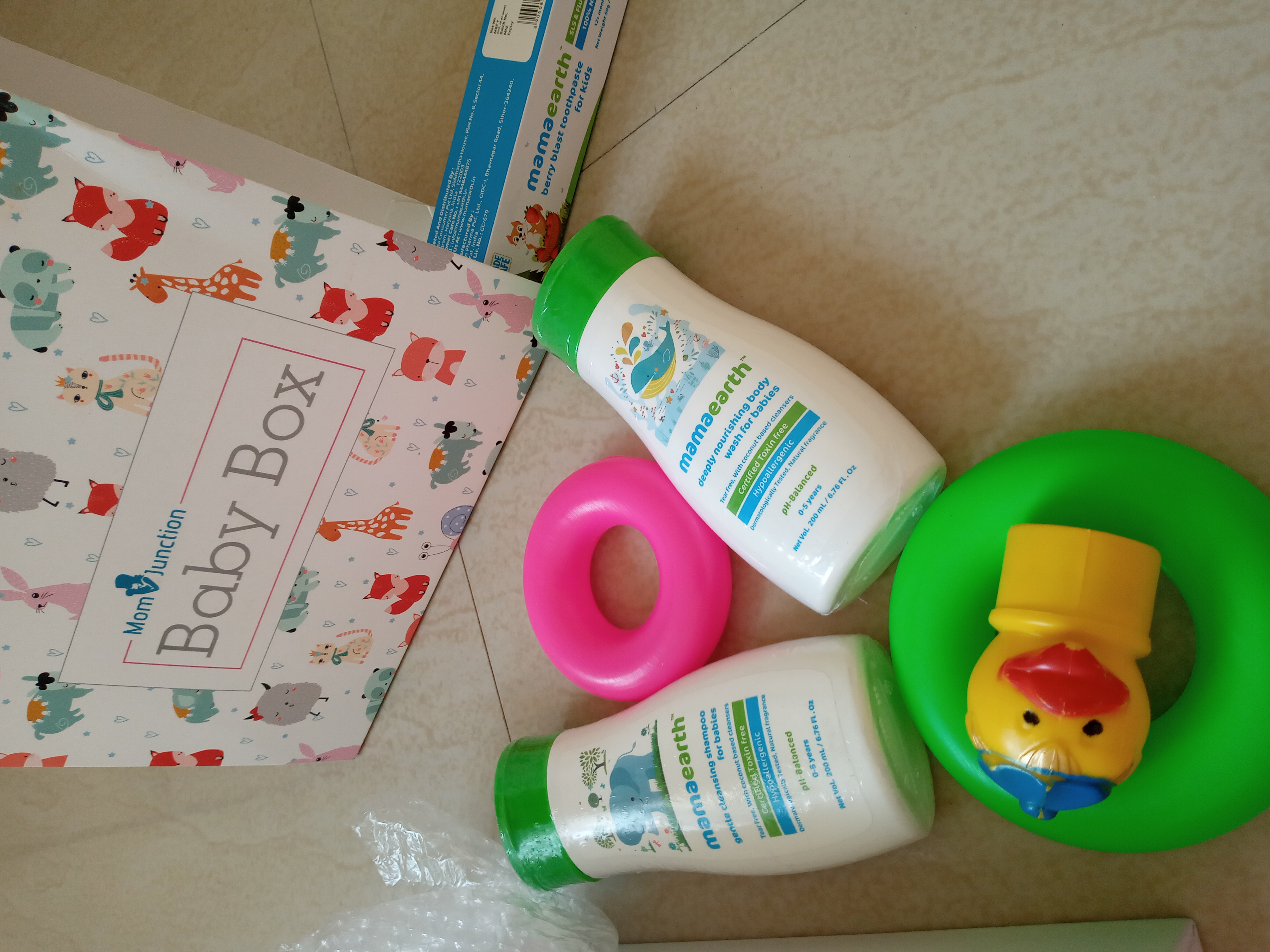 Mamaearth Complete Baby Care Kit-The best range of Baby care Products-By mariyavhora