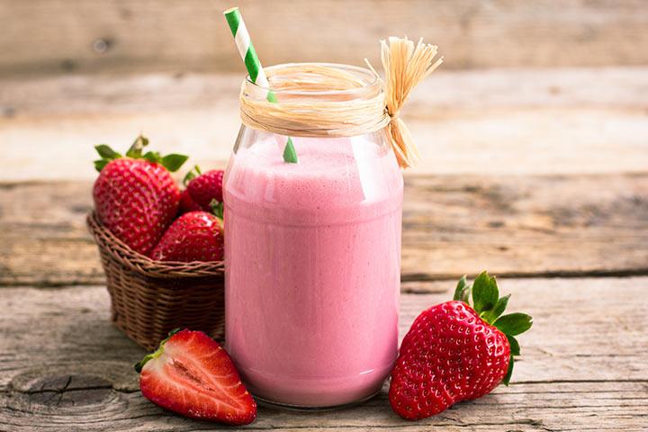 trawberry Milkshake