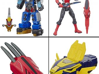 11 Best Power Rangers Toys To Buy  In 2021