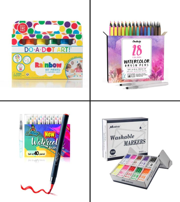 15 Best Paint Markers For Kids In 2020-1