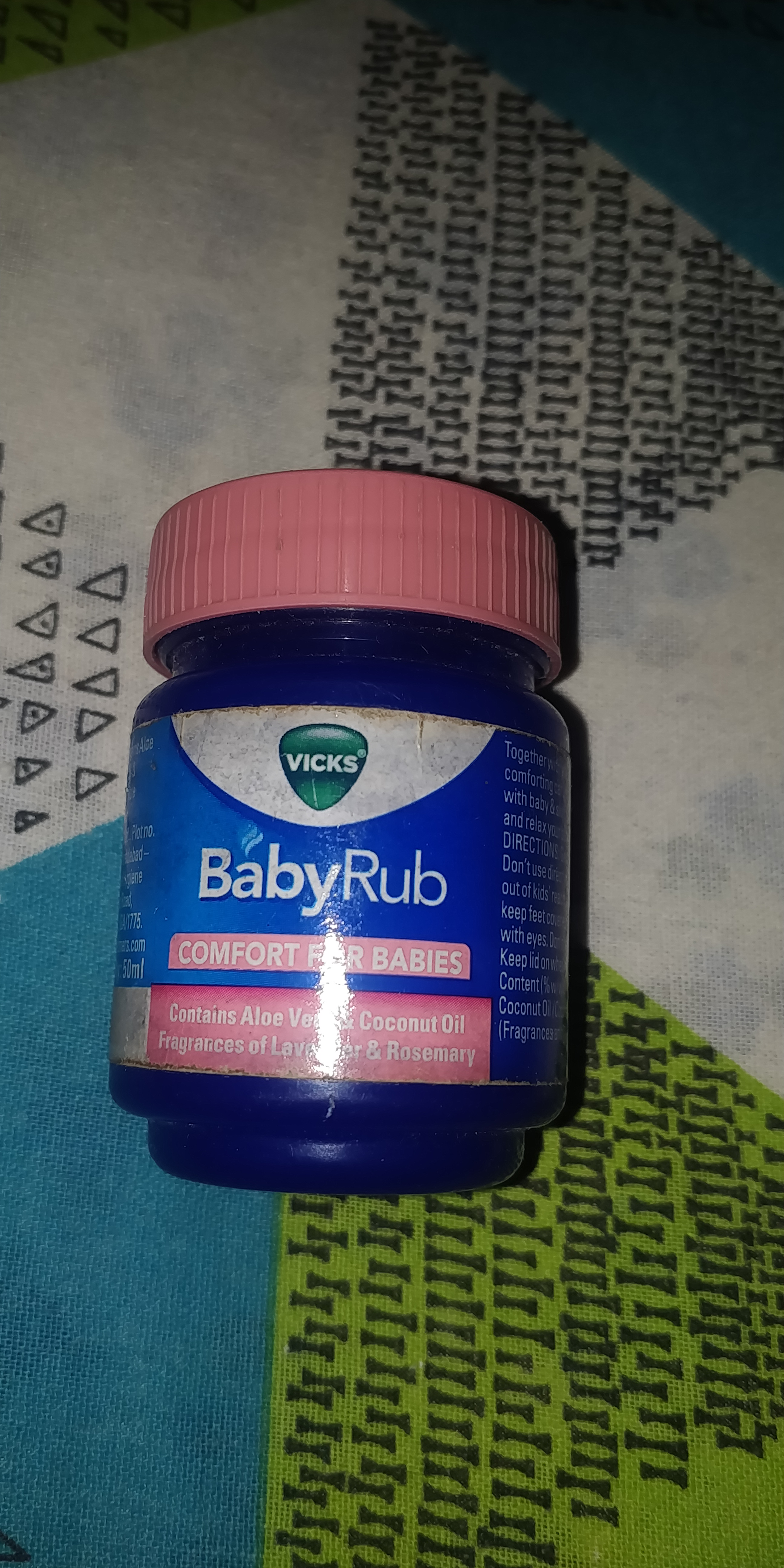 Vicks Baby Rub Soothing Ointment-Gentle and very safe-By riddzijl