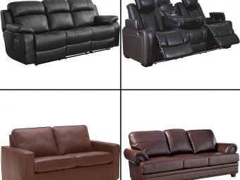 17 Best Leather and Leatherette Sofas In 2020