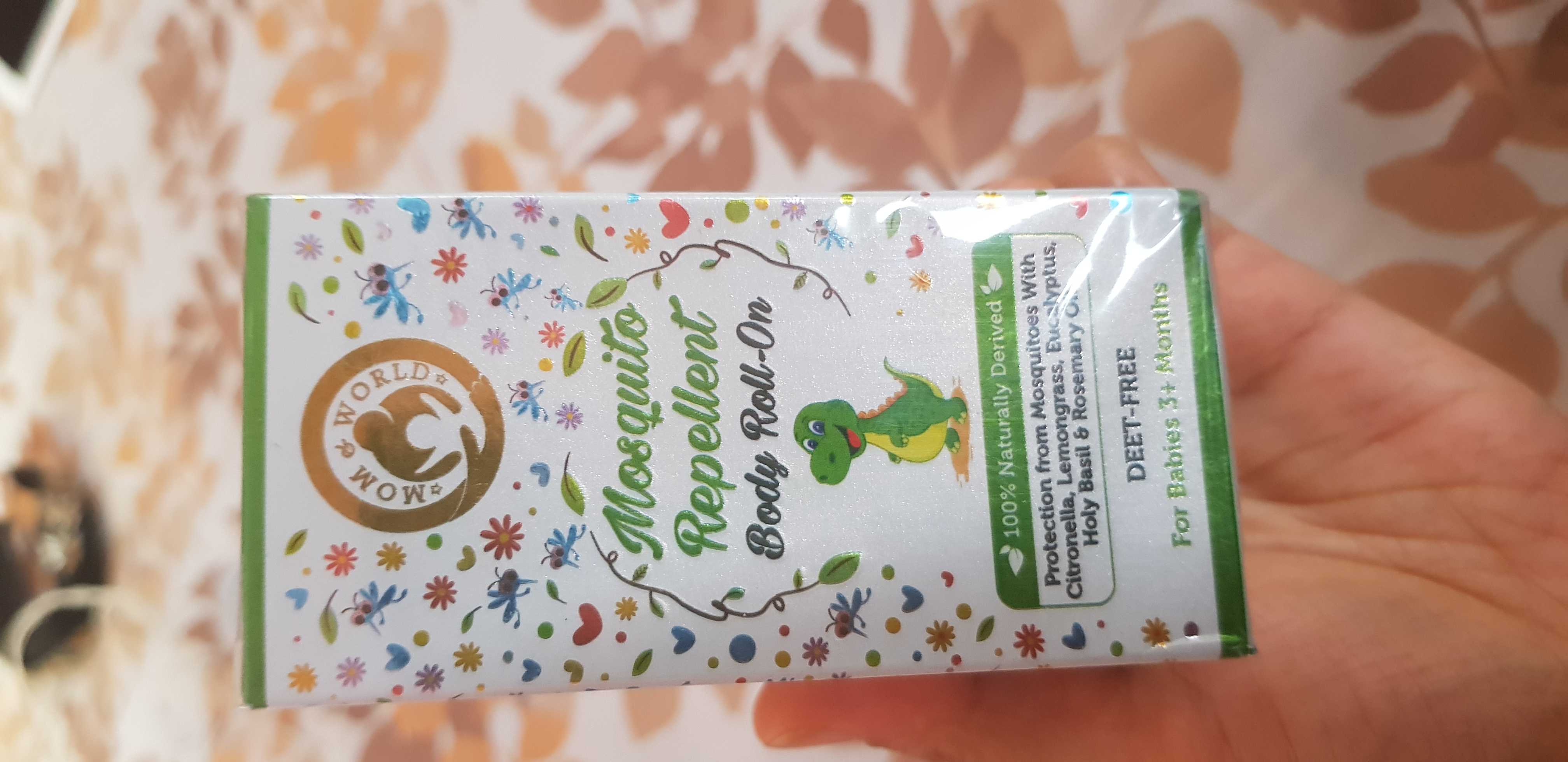 Mom & World Baby Mosquito Repellent Body Roll On-Highly recommended-By priyanka_dhadha