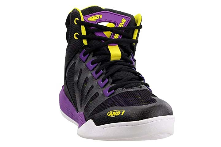 AND1 Womens Overdrive Basketball Casual Shoe