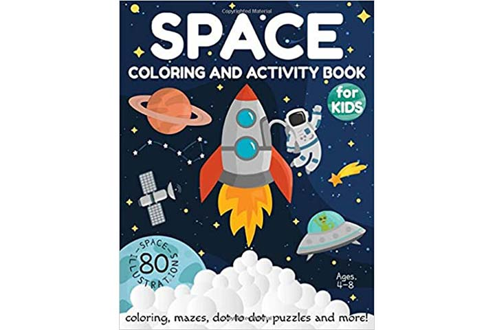 Activity Lab Space Coloring and Activity Book