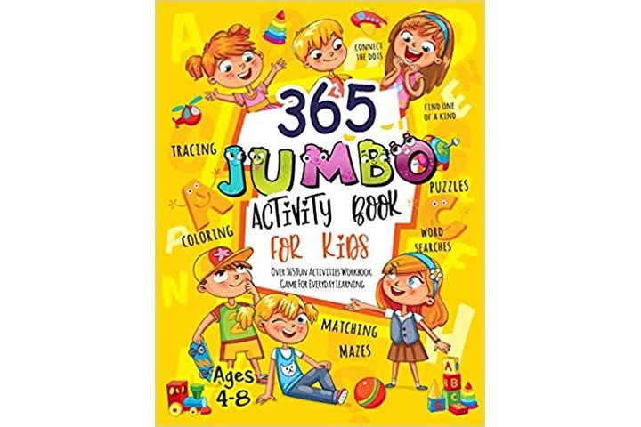 Activity Slayer 365 Jumbo Activity Book