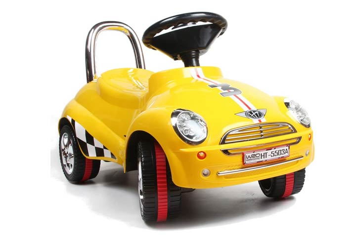 Amazing Tech Depot 3-in-1 Ride-on Car