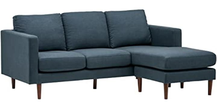 Amazon Brand- Rivet Revolve Modern Upholstered Sofa