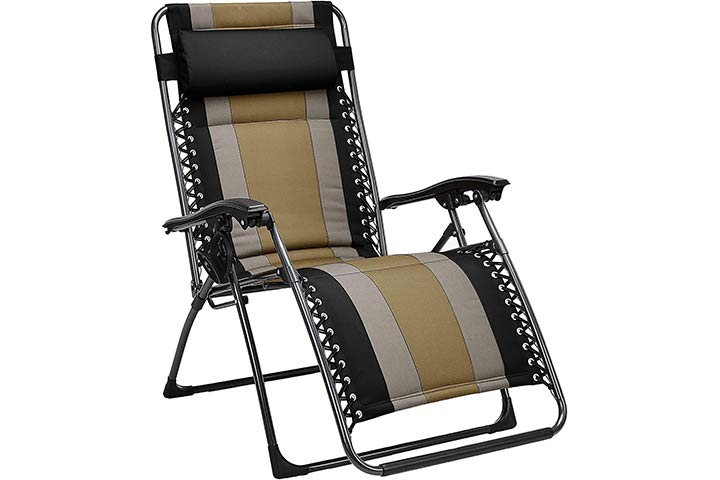 AmazonBasics Padded Zero Gravity Chair
