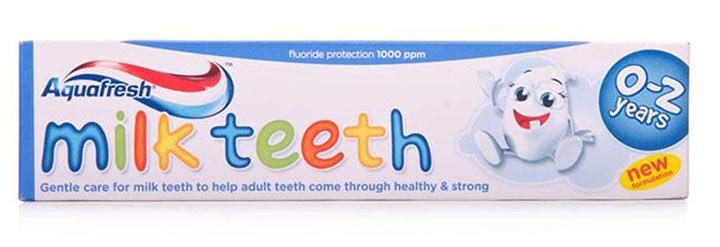 Aquafresh Milk Teeth Toothpaste