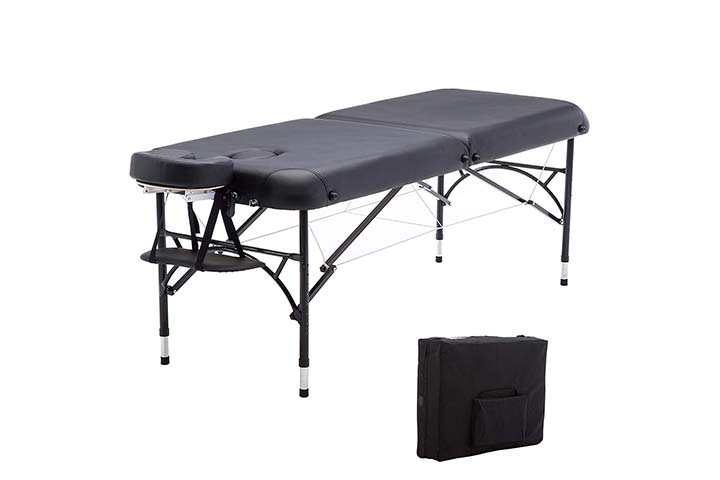 Artechworks 84 Professional 2 Folding Portable Lightweight Massage Table