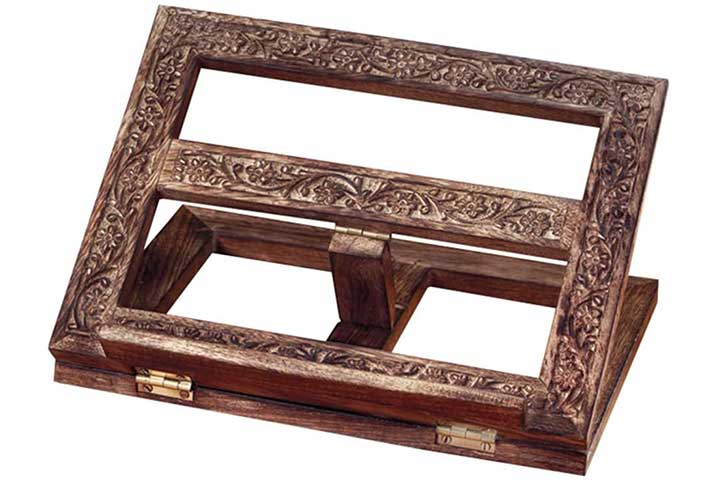 Autom Wooden Book Stand