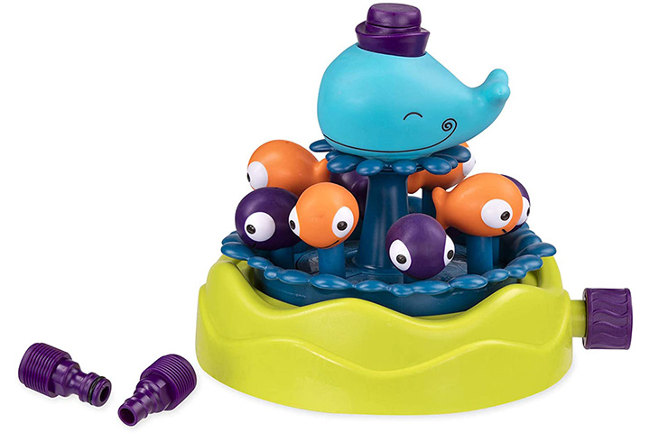 B. toys by Battat Whirly Whale Sprinkler