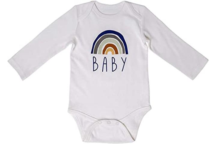 BKD KIDS Baby Unisex Organic Cotton Onesie