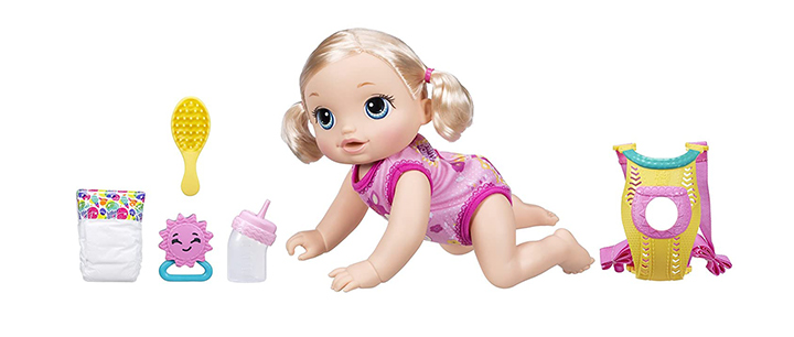 Baby Alive Baby Go Bye Bye Doll
