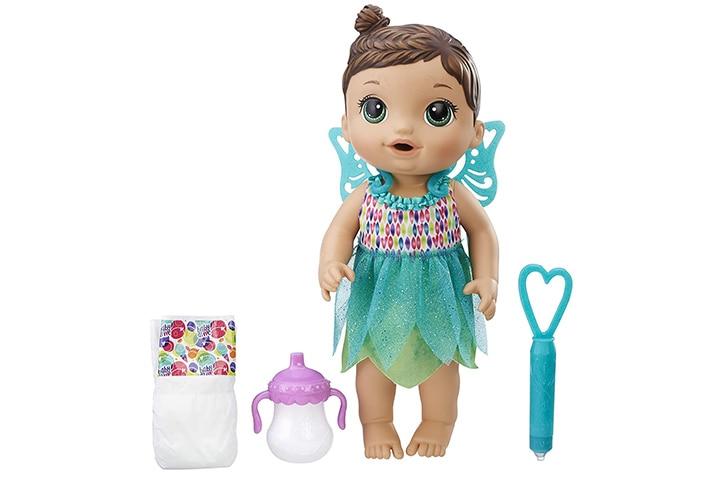Baby Alive Face Paint Fairy Brunette