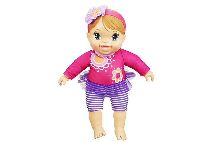 Baby Alive Plays and Giggles Baby Doll