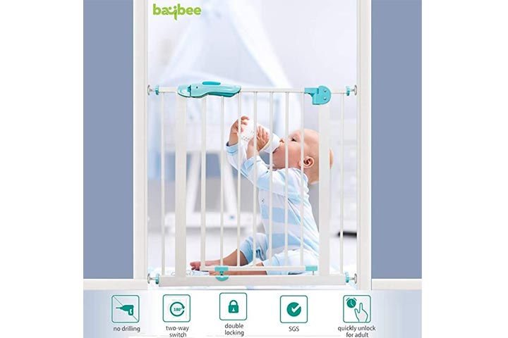 Baby Auto Close Safety Baby Gate