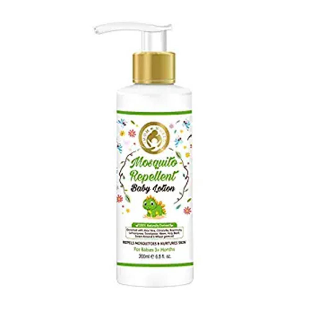 Mom & World Baby Mosquito Repellent Baby Lotion