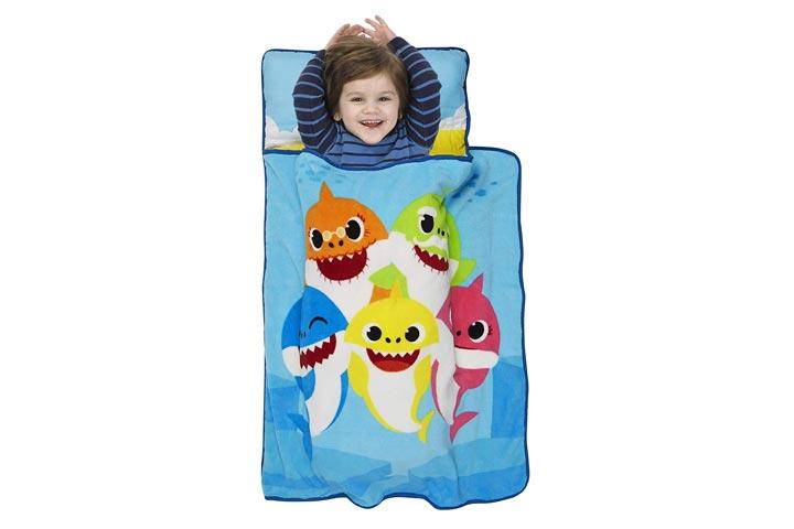 Baby Shark Toddler Nap Mat