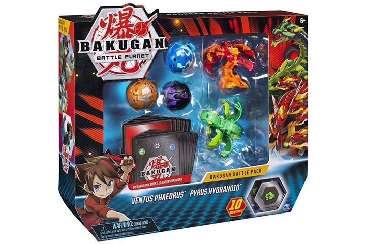 Bakugan, Battle 5 Pack, Ventus Phaedrus & Pyrus Hydranoid