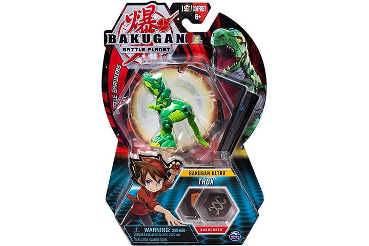 Bakugan Ultra, Trox, 3-inch Tall Collectible Transforming Creature