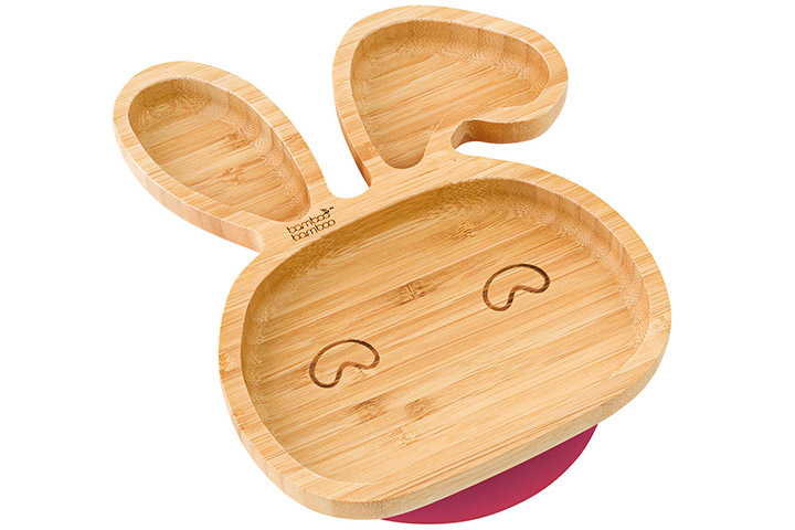 Bamboo Bamboo Bunny Suction Plate