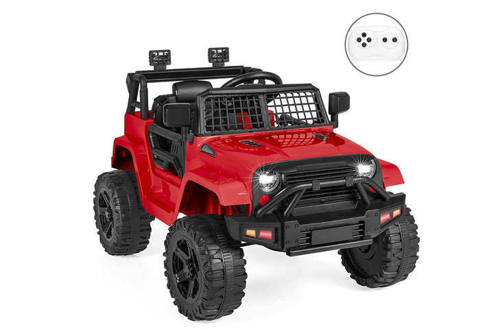 Best Choice Products 12V Kids Ride-on Truck-1