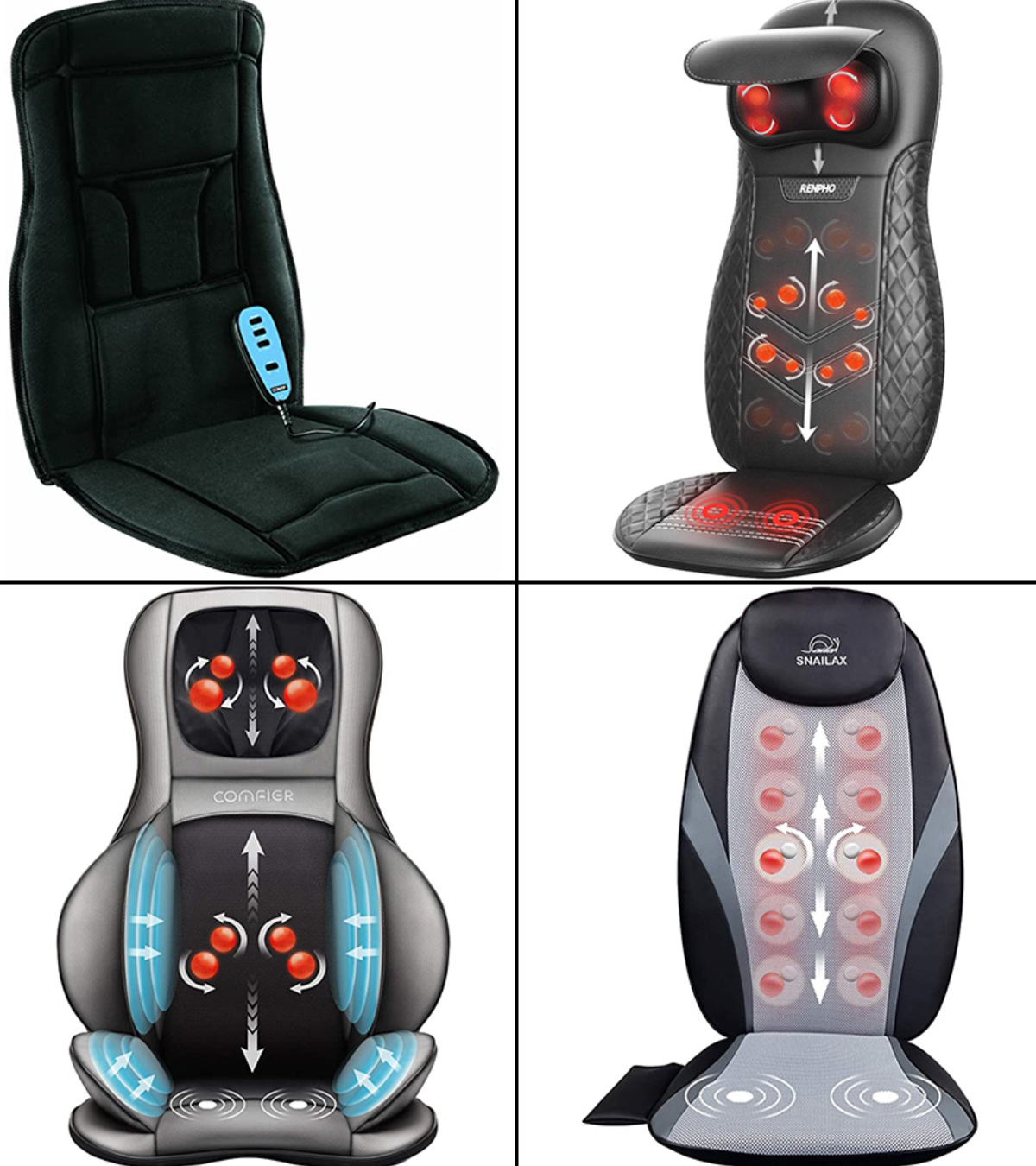 Picture of: 11 Best Massage Pads For Chairs In 2020