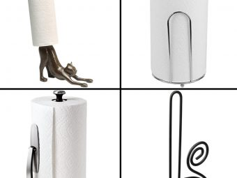 13 Best Paper Towel Holders Of 2020