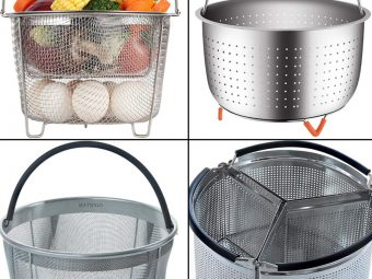 13 Best Steamer Baskets To Buy