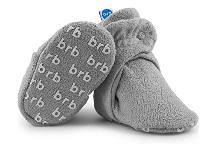 BirdRock Baby Fleece Baby Booties