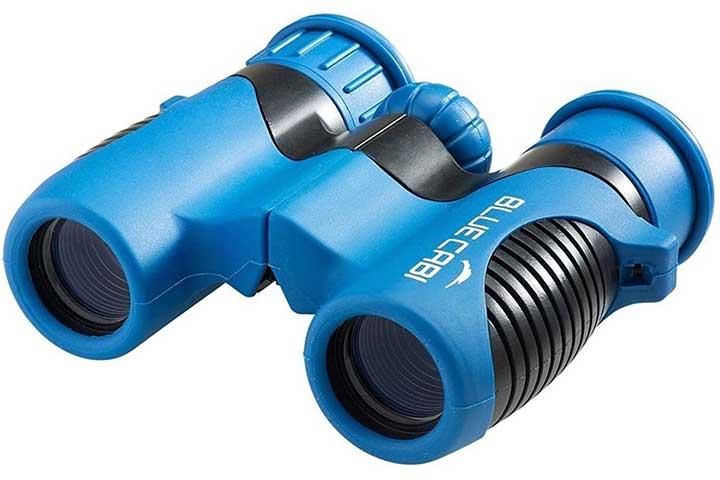 BlueCabi Shock Proof 8x21 Kids Binoculars