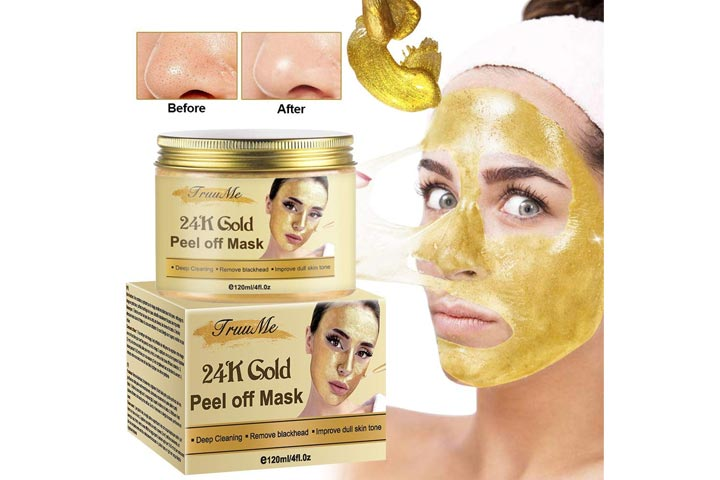 CIDBEST TruuMe 24K Gold Peel Off Mask