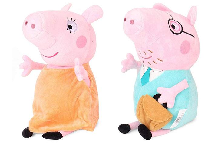 Canthan Keg Pig Plush Stuffed Soft Toys
