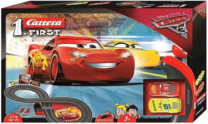 Carrera First Disney/ Pixar Car 3- Slot Car Race Track
