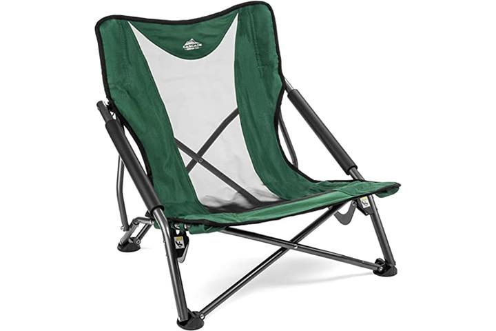 Cascade Mountain Tech Low Profile Outdoor Folding Chair
