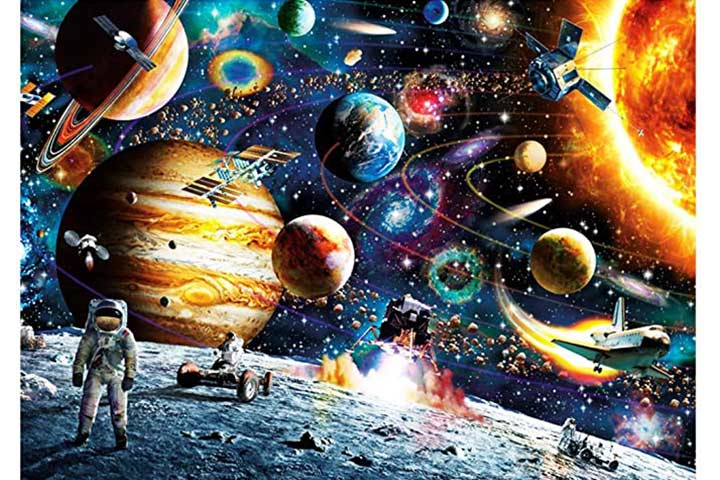 Chafin Space Puzzle 1000 Pieces Jigsaw