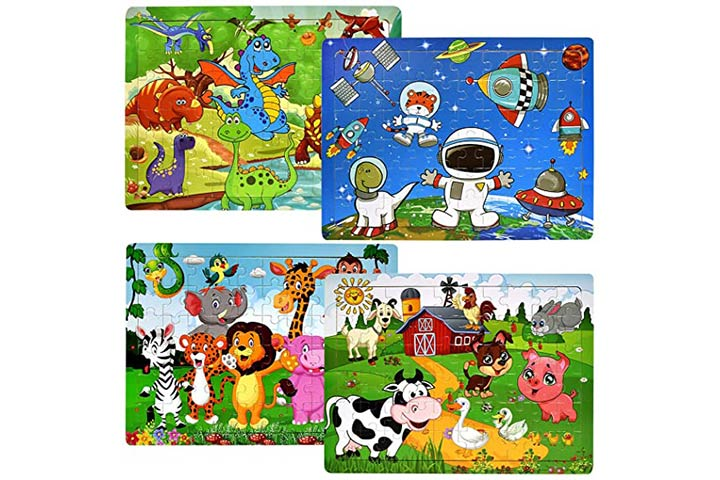 Chafin Wooden Jigsaw Puzzles