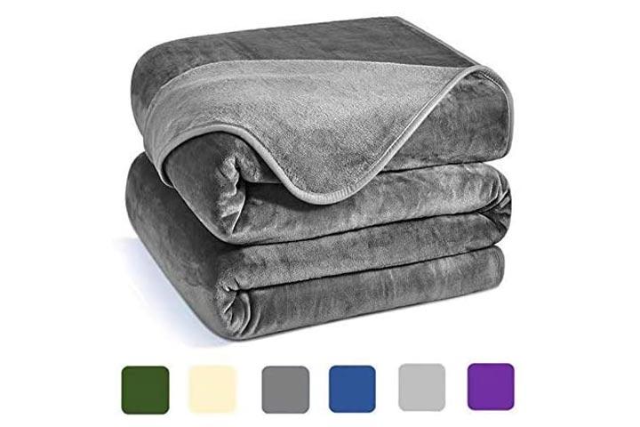 Charm Heart Luxury Fleece Blanket
