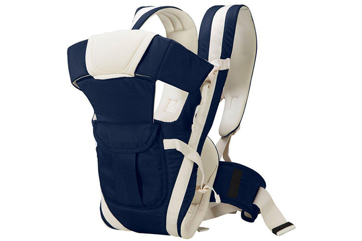 Chinmay Kids 4-in-1 Adjustable Baby Carrier Cum Kangaroo Bag