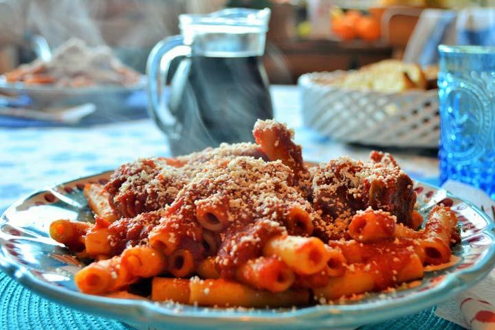 Chunky Tomato Pasta