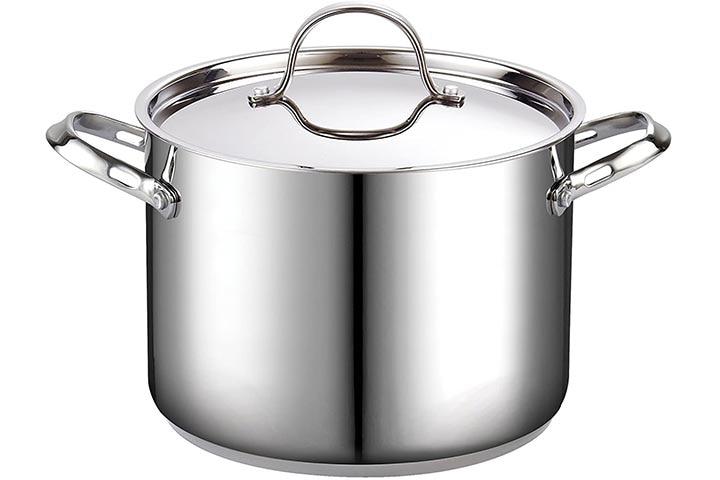 Cooks Standard 02519 8-Quart Classic Stainless Steel Stockpot