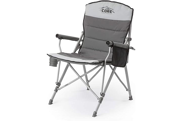 Core Equipment Folding Padded Chair