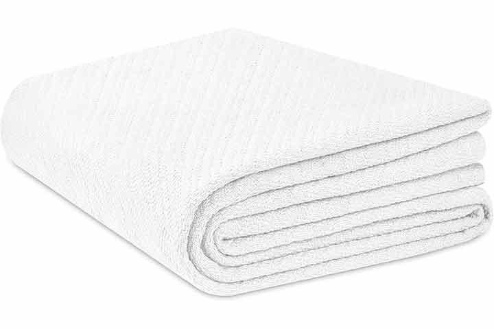 Cotton Craft 100% Soft Premium Cotton Thermal Blanket