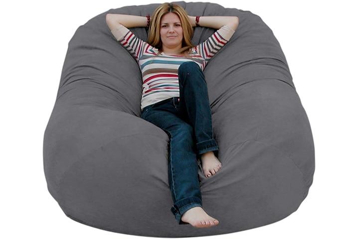 Cozy Sack 6-Feet Bean Bag Chair