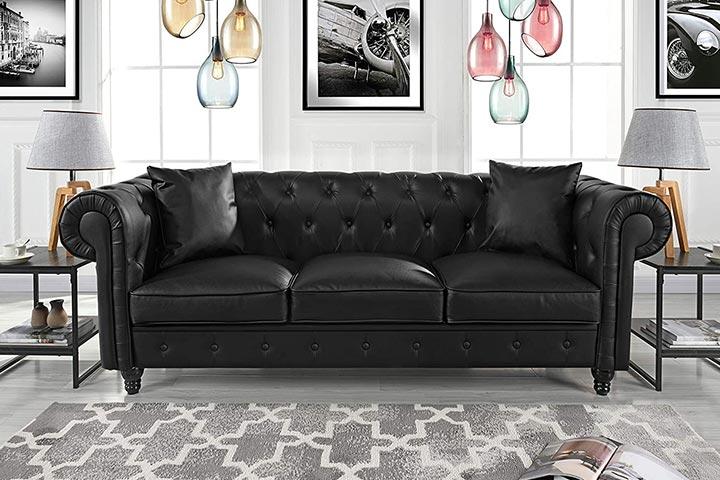 Divano Roma Furniture Classic Sofa